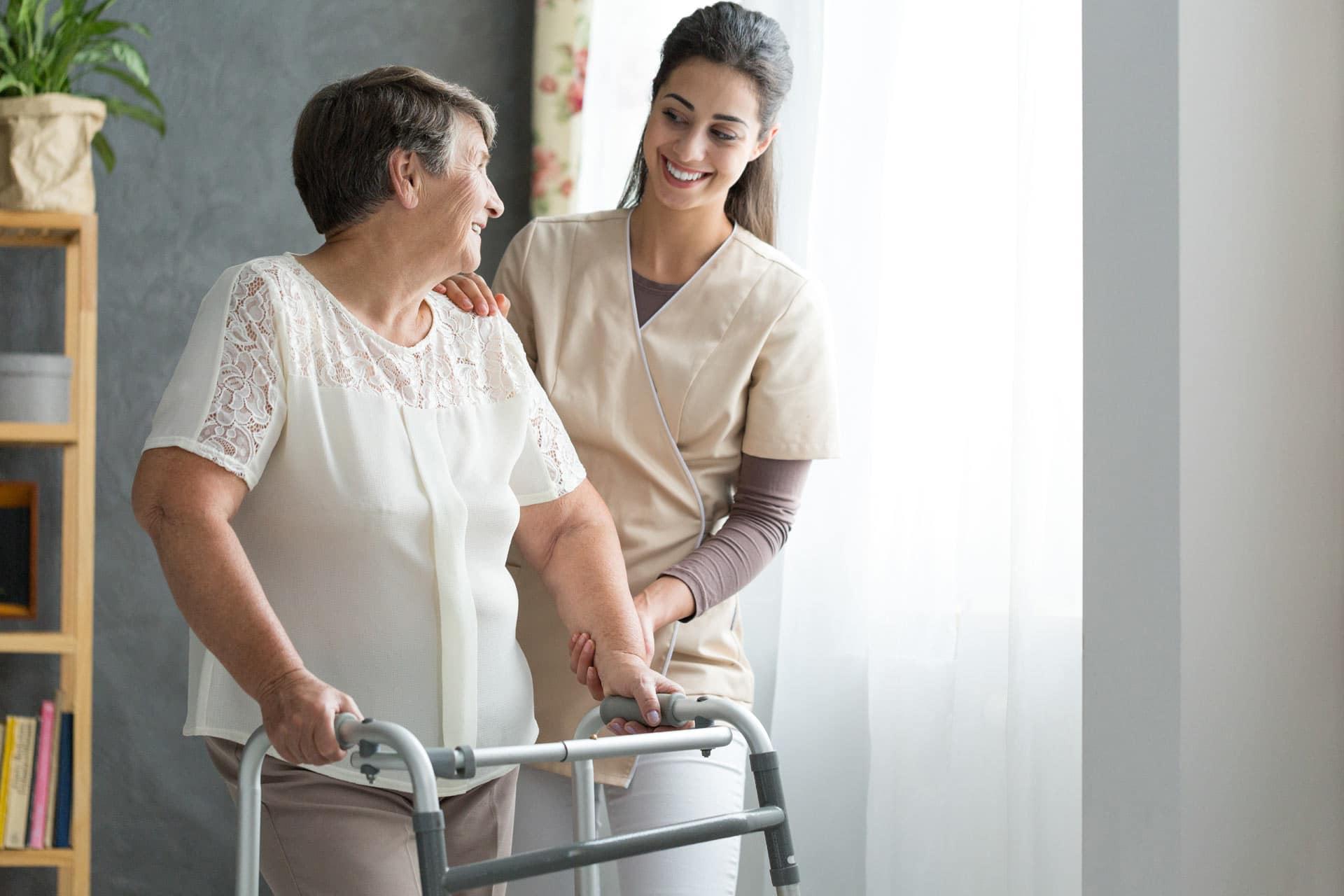 Hausbesuche bei der Praxis fuer Physiotherapie Anja Schuette in Troisdor